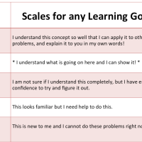 What are Marzano Scales?