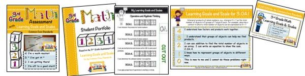 3rd Grade Marzano Math Bundle