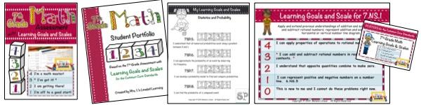 7th Grade Marzano Math Bundle