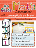 8th Math Marzano Assessment