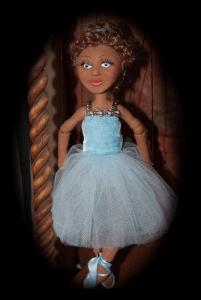 Pale Blue Ballerina Bianca