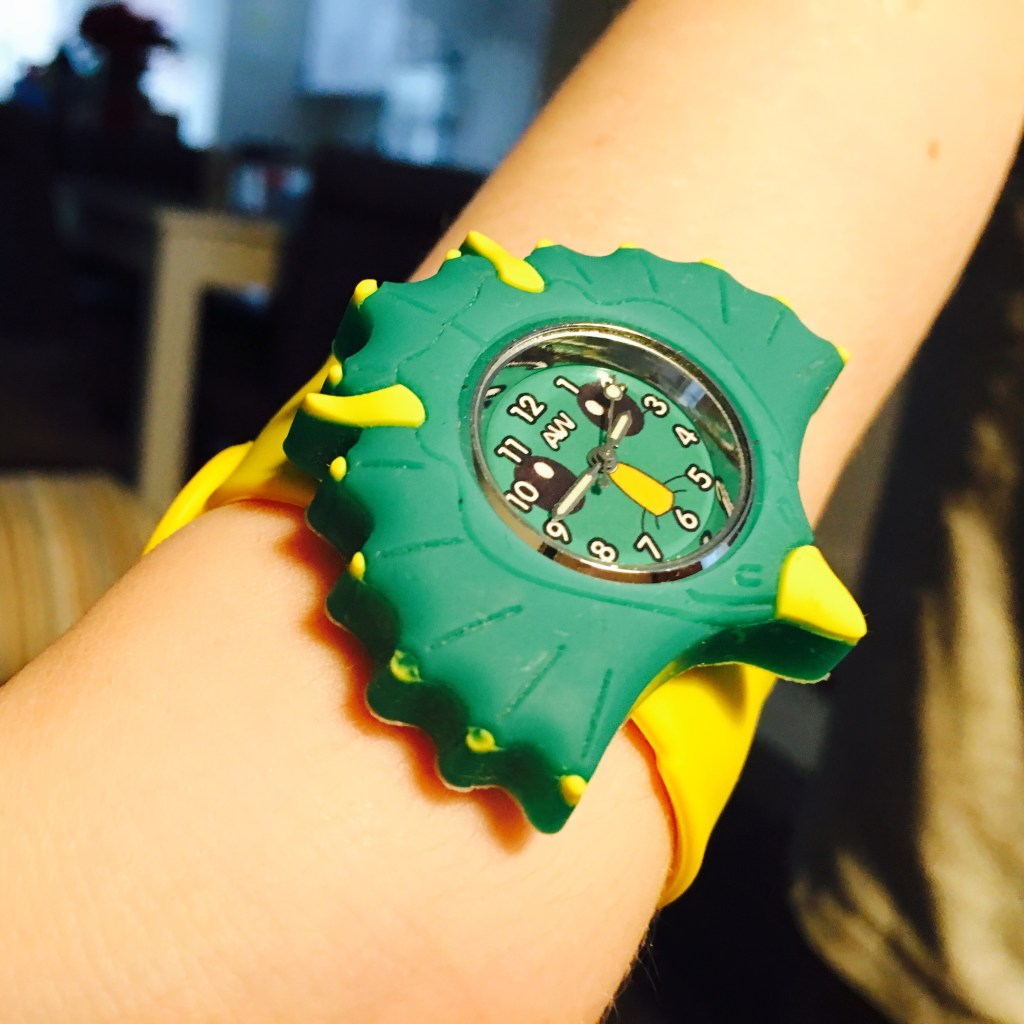 An Anisnap Watch for Logan