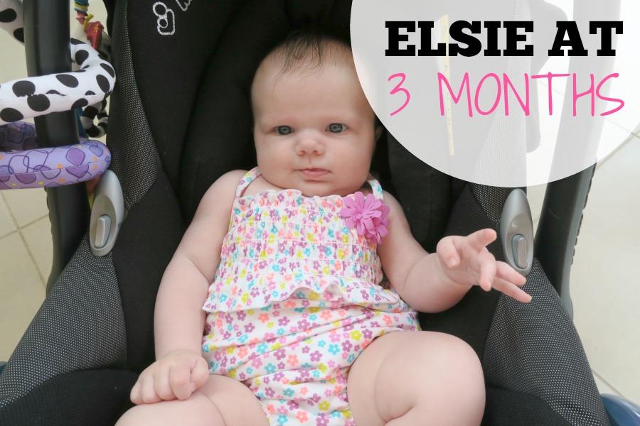 Elsie at 3 months old