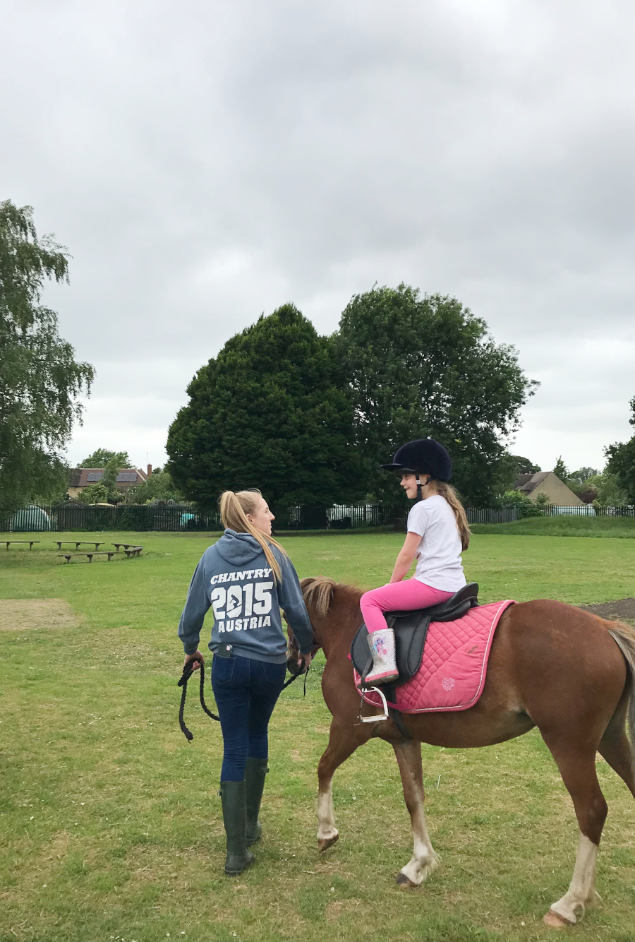 Florence and Horse Riding - Mrs Magovern