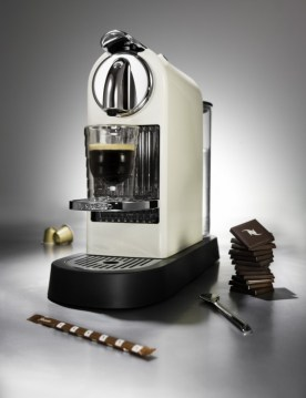 I love a good cup of Nespresso. My husband gave my mom a machine and it was an amazing gift. They have awesome rich flavors of coffee and look good in any kitchen.