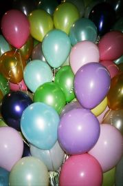 Colorful balloons!