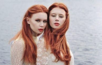 redhead twins