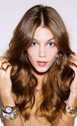 A more caramel-toned brunette!