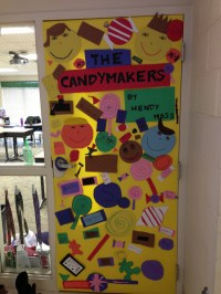 DOOR DECORATION COMPETITION - Mrs. Martin's 4th Grade Class