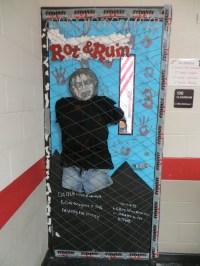 Zombie School Door Decorating Ideas 33 Best Scary Halloween