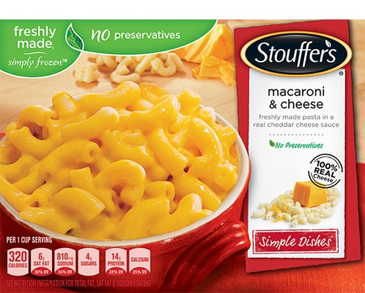Freshly Made Simply Frozen Dinners and Dishes Stouffers