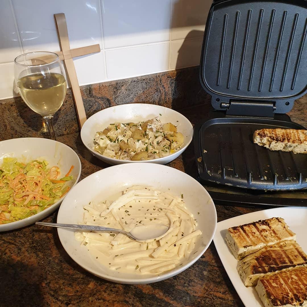 "Recipe: Vegan ""Halloumi"" – MrsMessyCook"