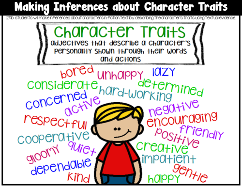 small resolution of Character Traits- 2.9B - Mrs. Meyer DII Coaching