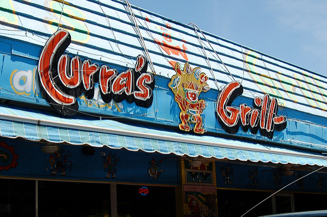 Curra's Grill in an alternative travel guide for Austin
