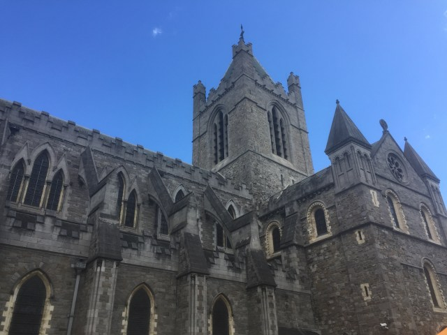 The Christchurch Cathedral in Dublin