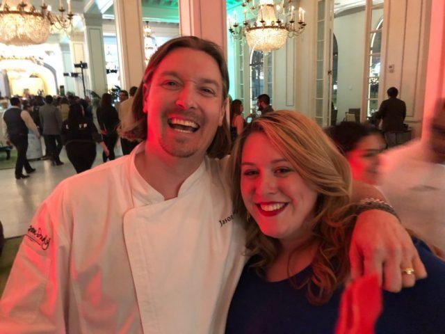 Chef Jason Dady, owner of 6 San Antonio Restaurants, and me enjoying a joke at the San Antonio Cocktail Conference