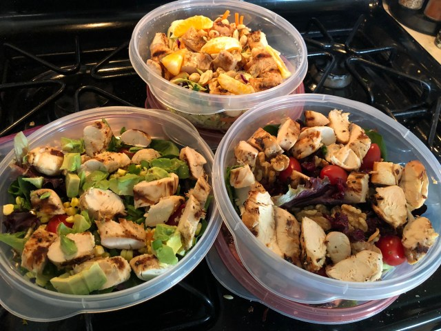 Three Great Make Ahead Salads for the Work Week