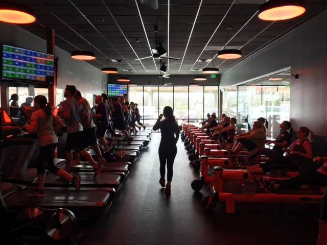 My Orangetheory studio in Austin, Texas.