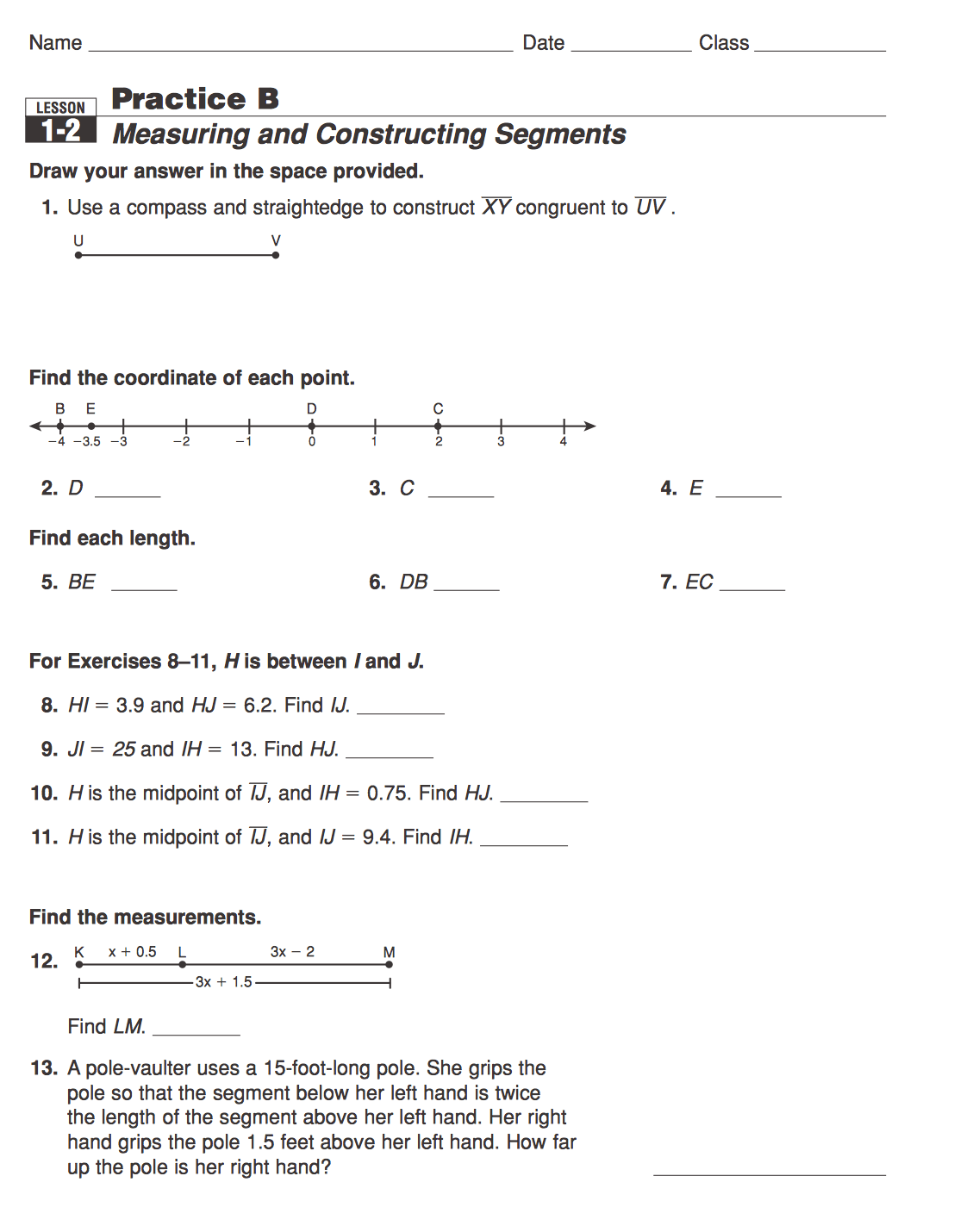 Multiple Transformations Worksheet Kuta