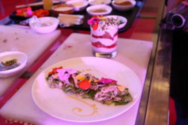 Agra Petha Savoury Salad and Shahi Tukra Summer Pudding