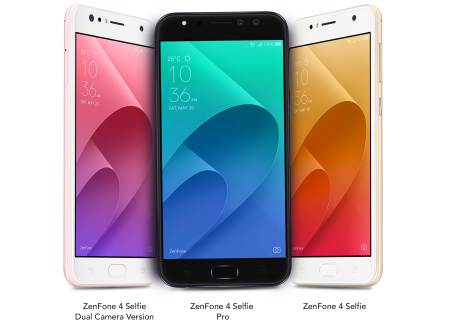 ASUS announces the ZenFone 4 Selfie Series