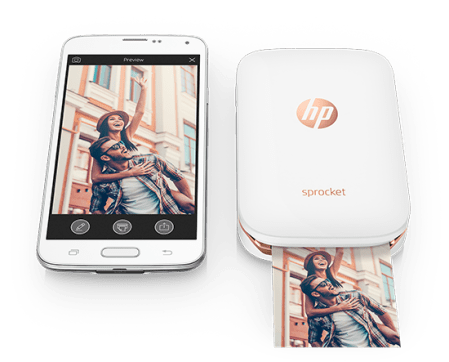 Bring memories to life with HP Sprocket