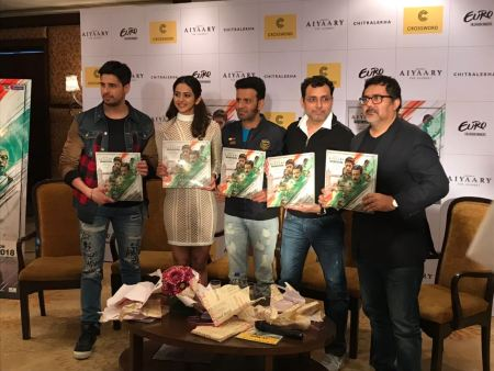Your country is your valentine too- Manoj Bajpayee at Aiyaary Book Launch