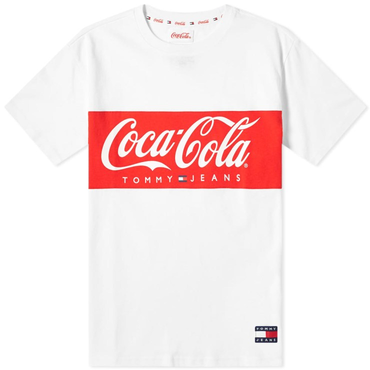 Tommy Jeans x Coca-Cola T-Shirt in White