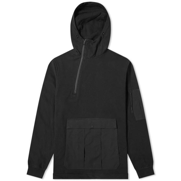 Maharishi Tech Cargo Zip Hoody 'Black'