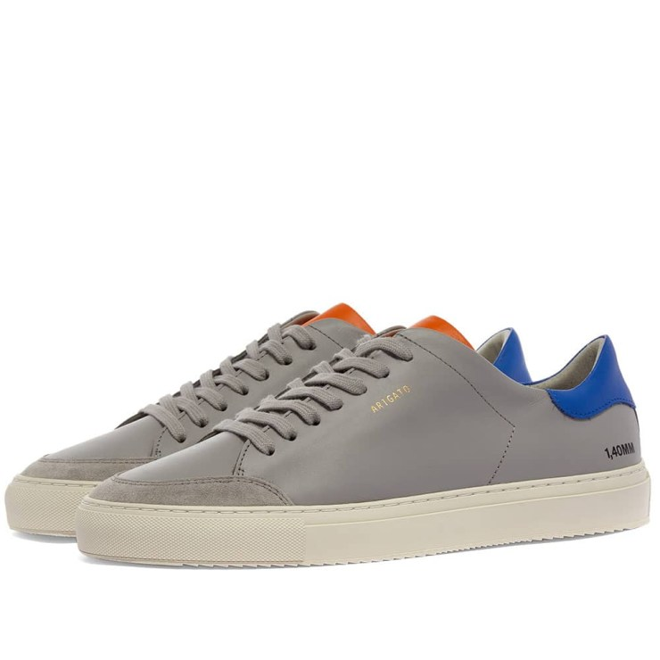 Axel Arigato Clean 90 Triple Sneakers 'Blue, Grey & Orange'