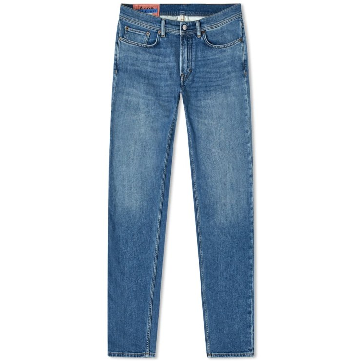 Acne Studios North Skinny Fit Jeans Blue