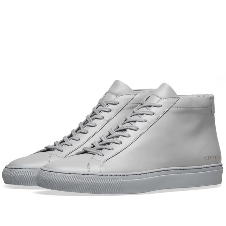 Common Projects Achilles Mid Sneakers 'Grey'