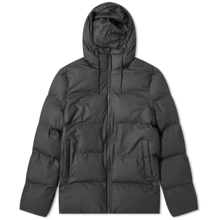 Rains Puffer Jacket 'Black'