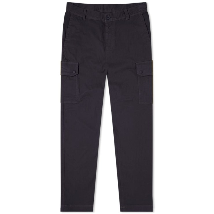 Paul Smith Herringbone Cargo Pants 'Navy'