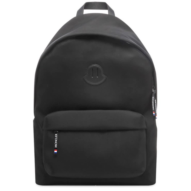 Moncler Pierrick Oversized Logo Backpack 'Black'