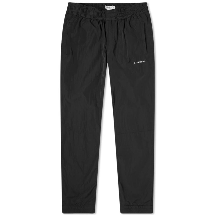 Givenchy Crinkle Nylon Trackpants 'Black'