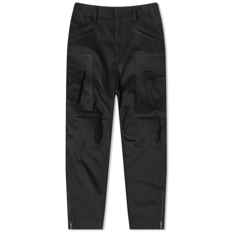 Neil Barrett Zip Combat Cargo Pants 'Black'