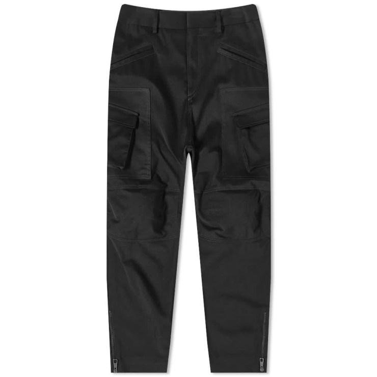 Neil Barrett Zip Combat Cargo Pants 'Black'