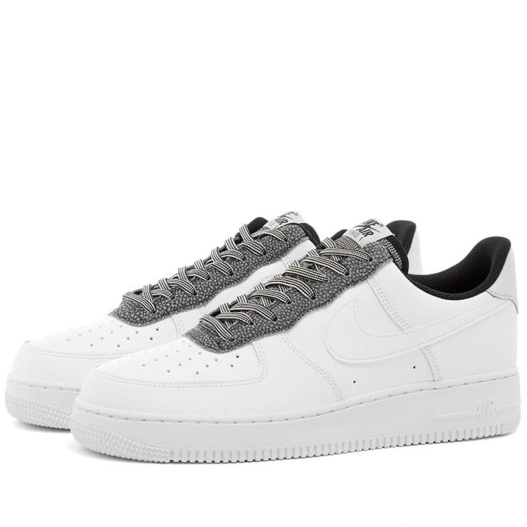 Nike Air Force 1 '07 LV8 'White & Grey'