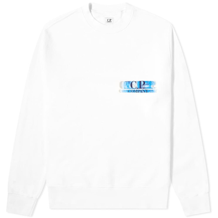C.P. Company Motion Reverse Print Sweatshirt 'White'
