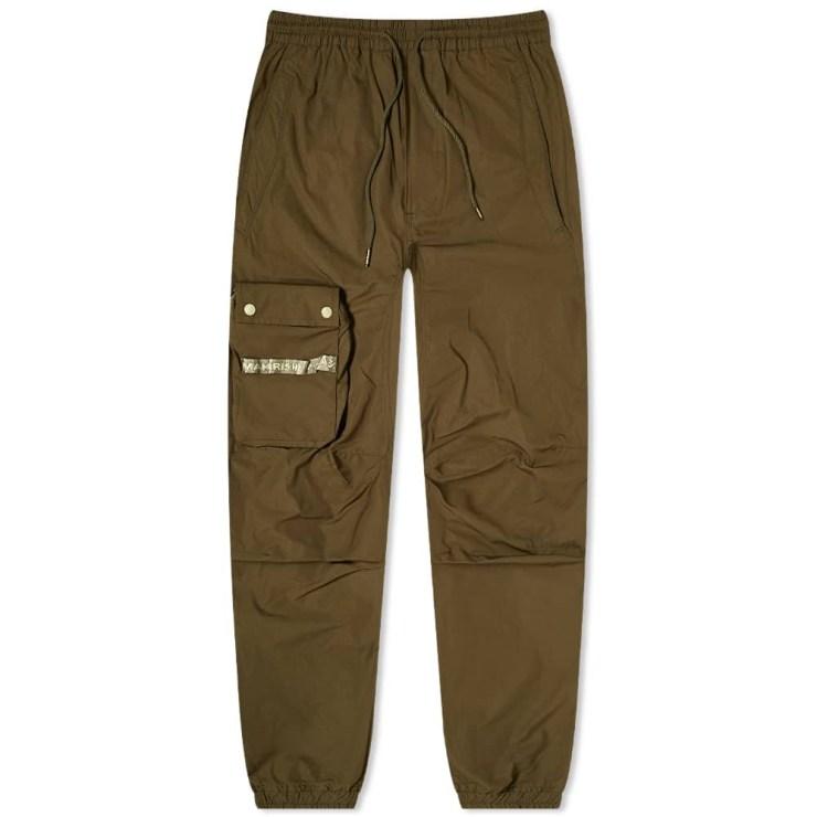 Maharishi Detachable Pocket Bag Cargo Pants 'Dark Olive'