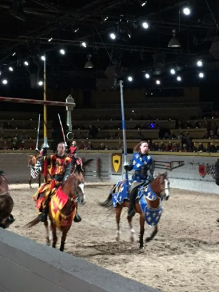 medieval times jousting