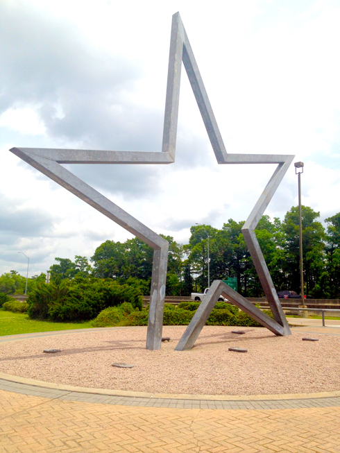 Texas Welcome Center Star