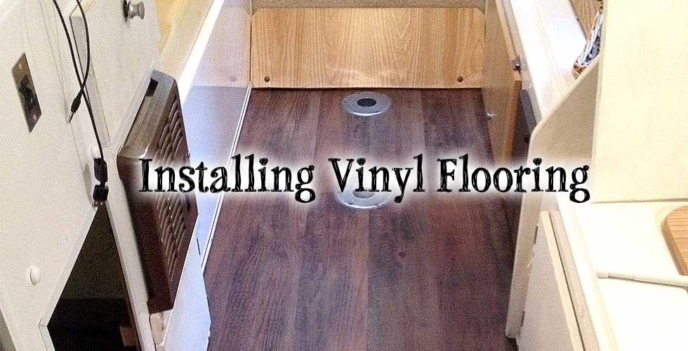 Installing Wood Vinyl Flooring In My Casita Travel Trailer Mrs