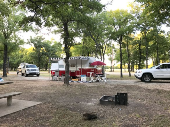 Lots of room at Campsite at Lake Whitney