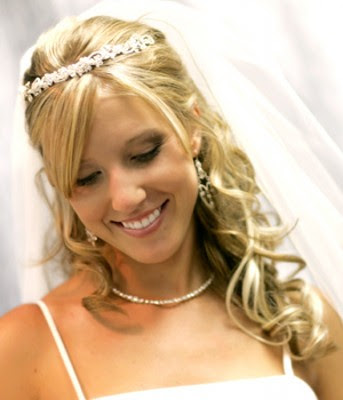 wedding hairstyles long, wedding hairsyle wavy, bridal hairstyle long