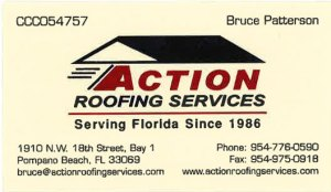 Bruce Patterson, Action Roofing Services