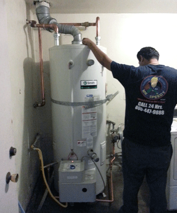 Giant Water heater installation