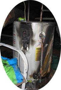 Water-Heater-on-Fire