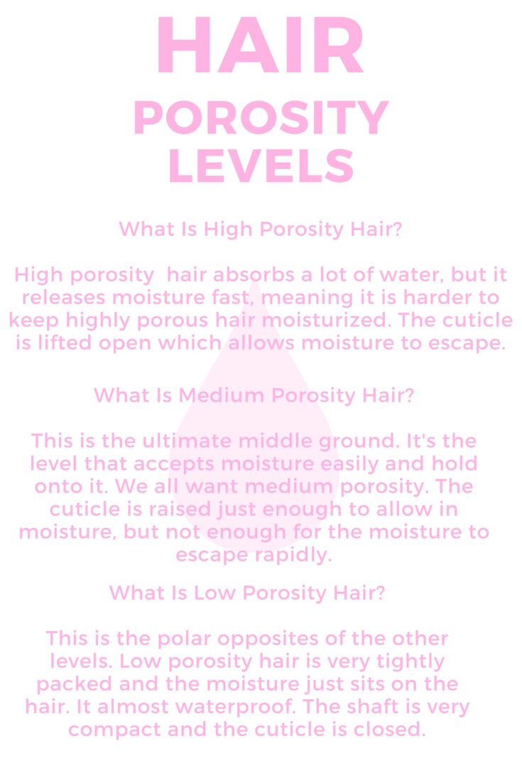 Hair porosity 101 mrsphatandnaptural knowing your hair porosity is probably one of the most important ingredients of your hair journey knowing your hair porosity will allow you to choose urmus Choice Image